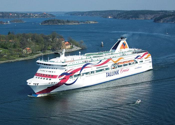 Паром Baltic Queen на маршруте Таллинн-Стокгольм