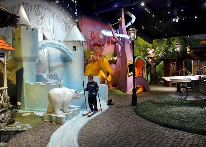Музеи Стокгольма: Юнибакен (сказок)