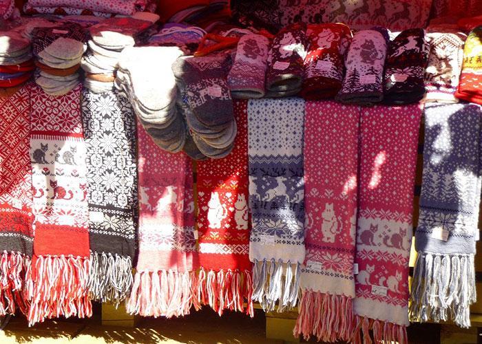 вязаные сувениры из Скандинавии