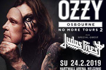 Автобусный тур на концерт на фото: концертOzzy Osbourne и Judas Priest в Хельсинки