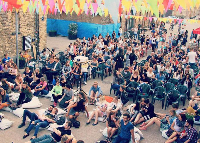 Арт-квартал Спикери в Риге - место отдыха и развлечений
