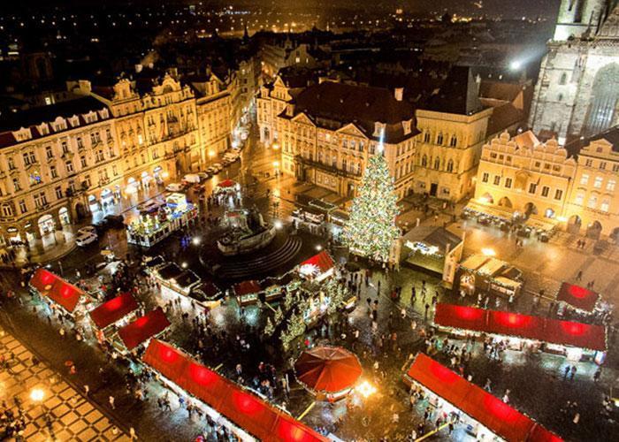 Подарок на Новый год: тур в Прагу