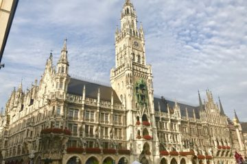 Мюнхен башня с часами