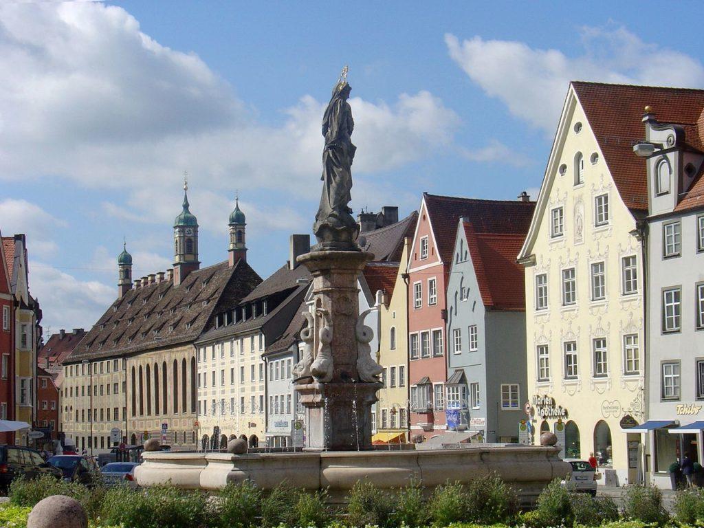 Ландсберг фонтан