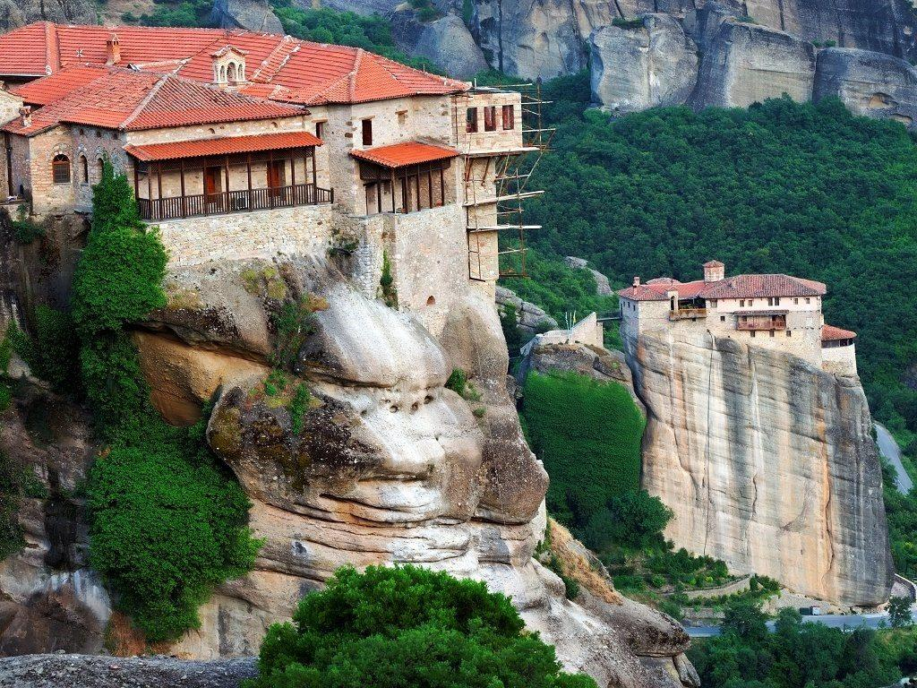 монастырский комплекс Метеоры