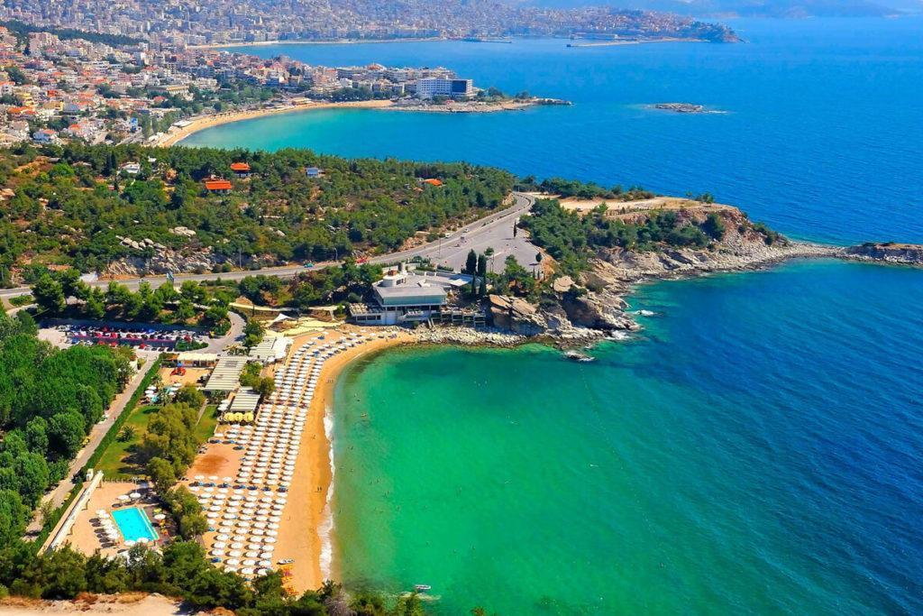 Кавала пляж Батис