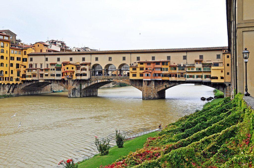 мост Понте Веккьо Флоренция