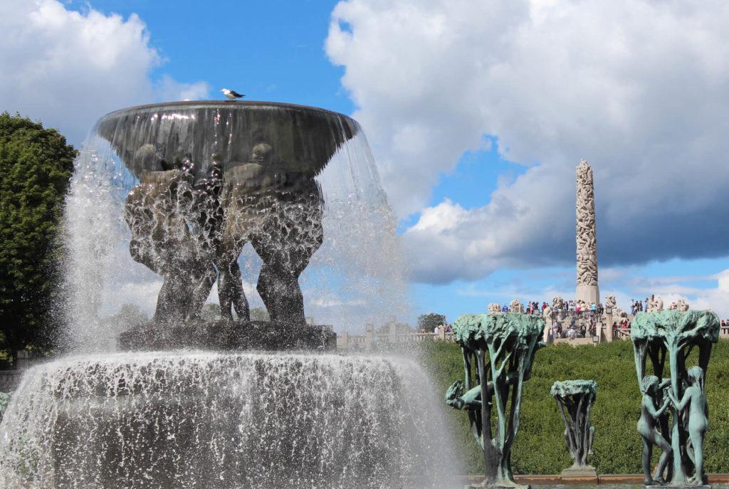 Осло парк скульптур Густава Вигеланда