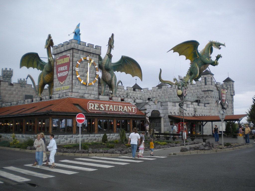 развлекательный центр Excalibur City