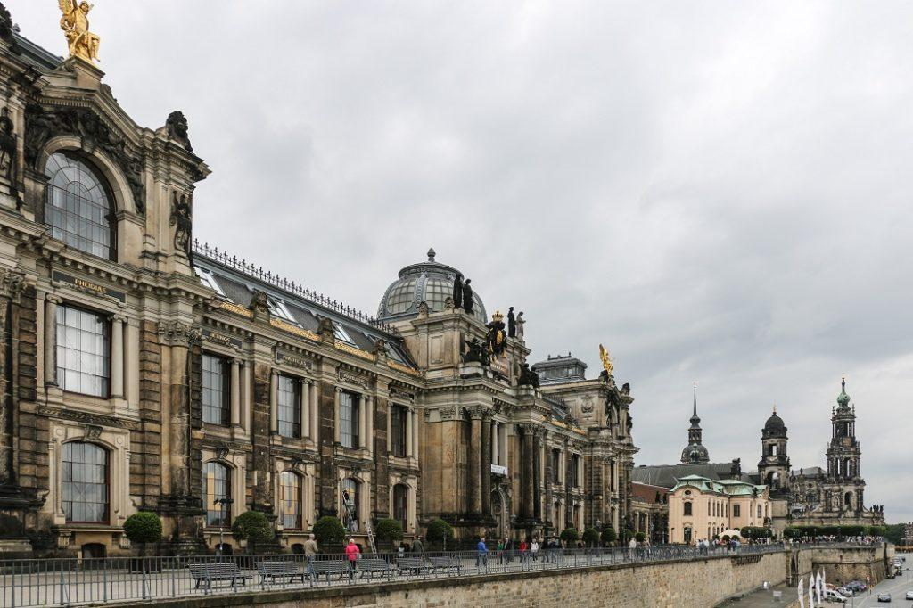 набережная Брюля Дрезден