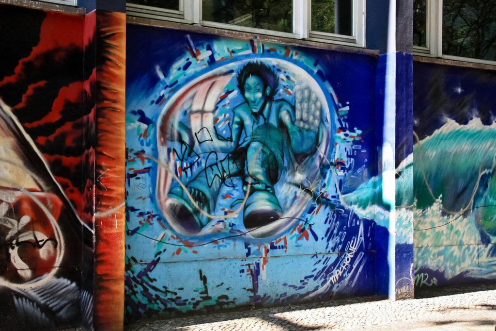 граффити в районе Кройцберг