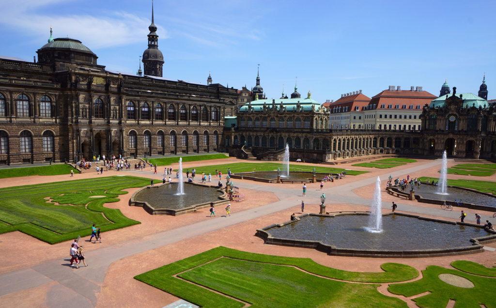 Картинная галерея в Дрездене